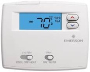 White-Rodgers 1F86-0244 Non-Programmable Non-Programmable Single Stage Thermostats Thermostat Single Stage ;Classic White