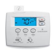 White-Rodgers 1F86EZ-0251 Non Programmable Easy Set Digital Thermostat