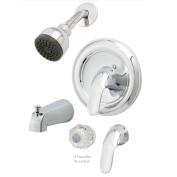 Aqueous Faucet Basic Diverter Tub and Shower Faucet Trim Lever Handle