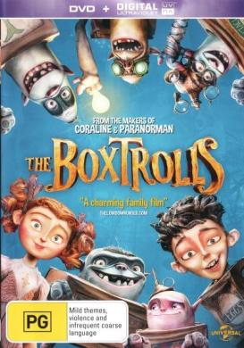 The Boxtrolls (DVD/UV)