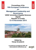 10th European Conference on Management Leadership and Governance