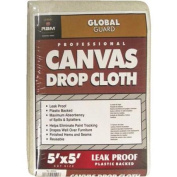 Leakproof Canvas Drop Cloth-5X5 LEAKPROOF DROP CLOTH