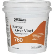 Dynamite 760 Vinyl Over Vinyl Wallcovering Adhesive-QT BORDER ADHESIVE