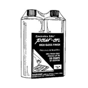 Environmental Tech. 2007 Envirotex Lite Pour-On Finish-120ml CLEAR POUR-ON FINISH