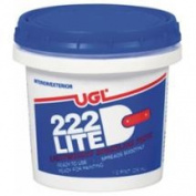 United Gilsonite 31806 . 50 Pint 222 Lite Spackling Paste