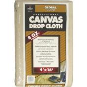 Premier Paint Roller LLC 34158 No. 2 Canvas Drop Cloth-4X15 CANVAS DROP CLOTH