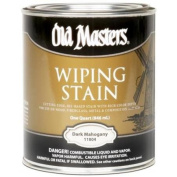 Old Masters 11804 0.9l Dark Mahogany Wiping Stain