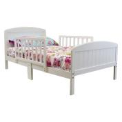 Russell Children Harrisburg XL Guardrail Wooden Toddler Bed,
