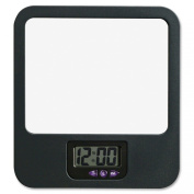 Lorell LLR80670 Fabric Panel Digital Clock Mirror