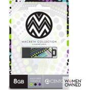 Centon 8GB PRO2 Macbeth USB Flash Drive, Lucy Dot Icesicle