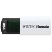 Wintec FileMate 32GB Mini USB Flash Drive Plus RoHS, Black