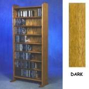 8 Shelf CD Storage (Dark)