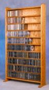 10 Shelf CD Storage (Clear)