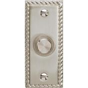 Carlon Lighted Doorbell Push-Button-NICKL LGHTD PUSH BUTTON