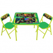 Nickelodeon Teenage Mutant Ninja Turtles Maxin & Shellaxin Activity Table Set