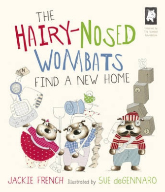 The Hairy Nosed Wombats Find a New Home