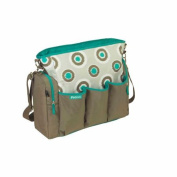iPack Baby iKat Dot Nappy Bag, Turquoise