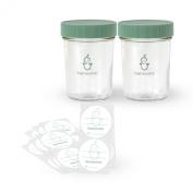 Sage Spoonfuls Sage Glass Baby Food Snack Pack, BPA-Free