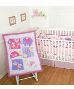 Sumersault Forever Friends 4-Piece Crib Bedding Set