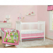 Garanimals Wild Life 3-Piece Crib Bedding Set