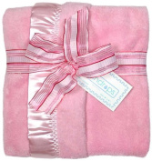 Dee Givens and CoRaindrops 1160 Raindrops 1160 Unisex Pink Flurr Receiving Blanket