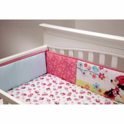 Disney Baby Bedding Sweet Minnie Mouse Crib Bumper