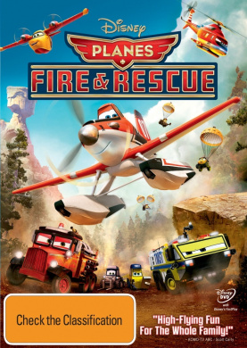 PLANES: FIRE AND RESCUE [DVD_Movies]