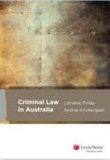 Criminal Law in Australia