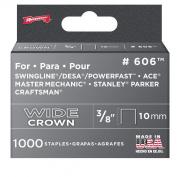 Arrow 606 Wide Crown Swingline Heavy Duty 1cm Staples, 1,000-Pack