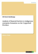 Analysis of Financial Barriers to Indigenous Enterprise Formation on the Copperbelt Province