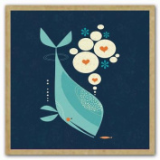 Whale Has a Friend Greengift-Notes, Eco-Friendly Mini Gift Notes and Envelopes for All Occasions