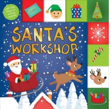 Santa's Workshop (Lift-The-Flap Tab Books) [Board book]
