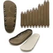 TOEOT TA Sandal Men's Customizable Sandal, Brown