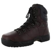 Rocky Mens 6115 20cm Mibilite Steel Toe Waterproof Work Boot Shoe, Brown, US 8