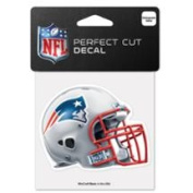 New England Patriots Official NFL 10cm x 10cm Die Cut Car Decal by Wincraft