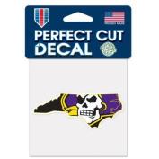 East Carolina Pirates Official NCAA 10cm x 10cm Die Cut Car Decal