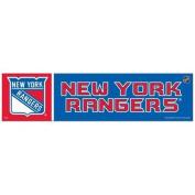 New York Rangers Official NHL 30cm x 7.6cm Bumper Sticker