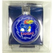 Kansas Jayhawks Official NCAA 7.6cm Small Christmas Ornament by Topperscot 912162