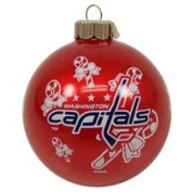 Washington Capitals Official NHL 7.6cm Small Christmas Ornament by Topperscot 911172