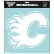 Calgary Flames Official NHL 20cm x 20cm Die Cut Car Decal Flames by Wincraft 295637