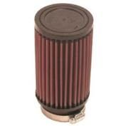 K & N RU-3030 Universal Rubber Filter 2. 110cm Flag, 3. 13cm Od, 15cm H