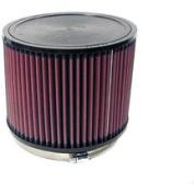 K & N RU-3060 Universal Rubber Filter 15cm Id Flag, 7. 13cm Od, 15cm H