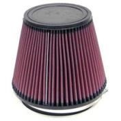K & N RU-3100 Universal Rubber Filter 15cm Flag, 7. 13cm B, 13cm T, 15cm H