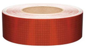 REFLEXITE 18644 Reflective Tape,W 5.1cm ,Red