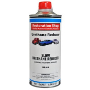 0.9l SLOW Urethane Reducer Above 85 Degrees High Temp Auto Paint Thinner