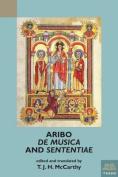 Aribo, De musica and Sententiae