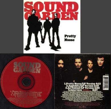 SOUNDGARDEN Pretty Noose [CD SINGLE-CARD]