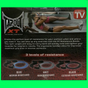TapouT XT Resistance Bands [ PACK OF 3 ] - Strength Training - Fitness - MMA Workouts and MORE
