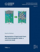 Manipulation of Liquid Metal Foam with Electromagnetic Fields