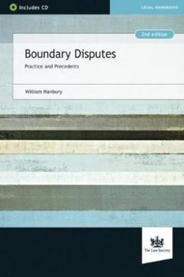 Boundary Disputes: Practice and Precedents